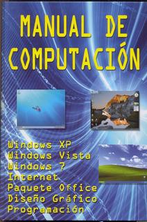 Libro Manual De Computación + 1 Cd Rom Grupo Cultural
