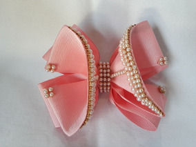 Laços De Cabelo - Rosa