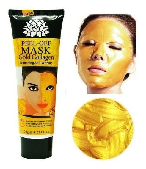 Máscara De Ouro 24k Gold Colágeno Anti Envelhecimento