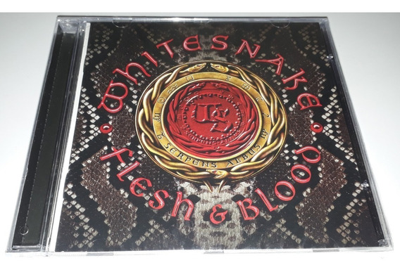 Whitesnake - Flesh And Blood (lacrado)