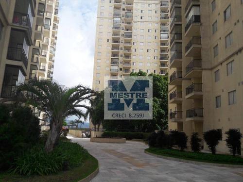 Apartamento Com 3 Dormitórios À Venda, 76 M² Por R$ 371.000,02 - Picanco - Guarulhos/sp - Ap1635