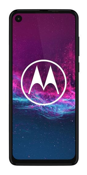 Celular Libre Motorola One Action Denin Gray Iridescent