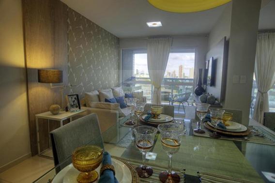 Apartamento Com 2 Dormitório(s) Localizado(a) No Bairro Capim Macio Em Natal / Natal - 088