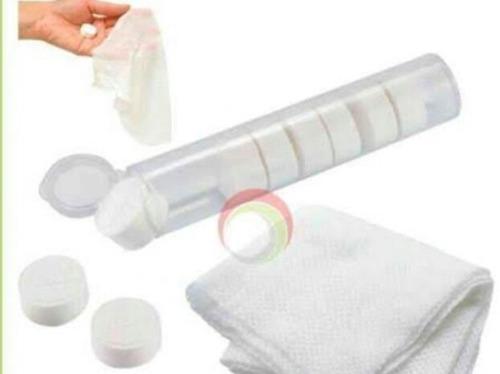 Toallitas Comprimidas De Cartera Y Envase Gel Antibacterial