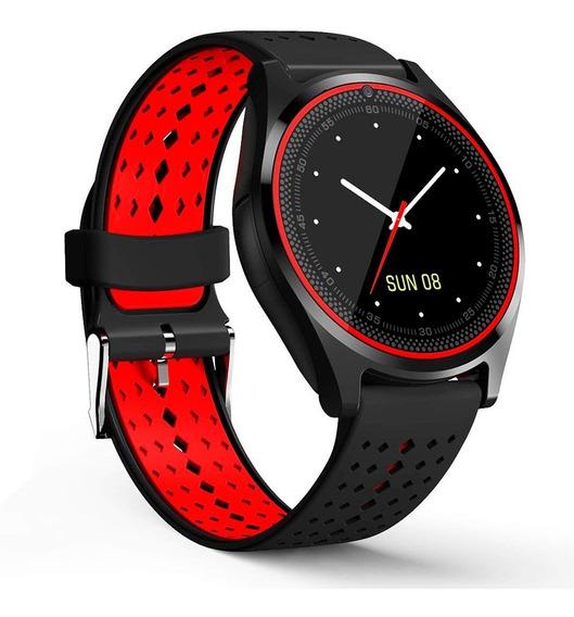 Binden Smartwatch V9 Medidor Ritmo Cardiaco, Cámara, Sim Y Micro Sd Con Función De Teléfono