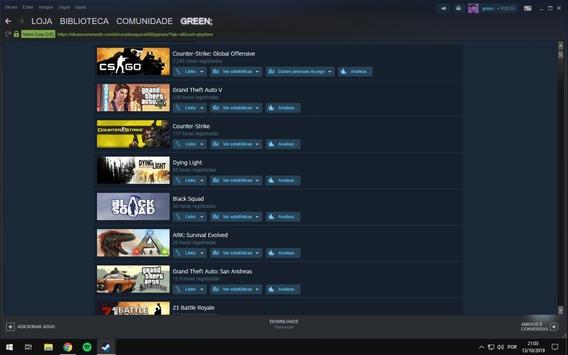 C0nte Steam Level 150 3 Anos De Serviços