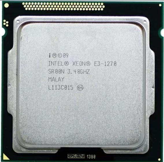 Xeon E3 1270 3.4 Ghz Lga1155, Idêntico Ao I7 2600!