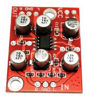 Modulo Preamplificador Audio Estereo Mono 3-6v Tda1308