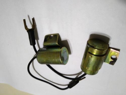 Condensador Anti Ruido (2) En Audio Para Bobina Y Alternador