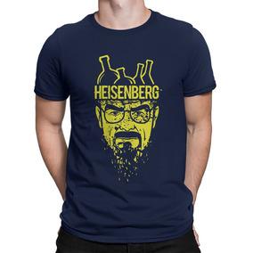 3 Camisetas + Placa Breaking Bad Heisenberg Walter White