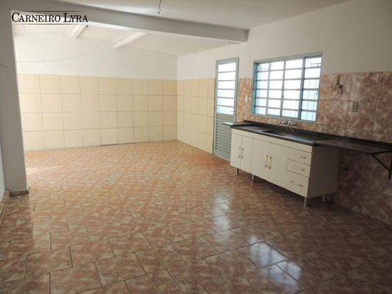 Casa Com 3 Dormitórios Para Alugar, 150 M² Por R$ 1.050/mês - Chácara Bela Vista - Jaú/sp - Ca0612