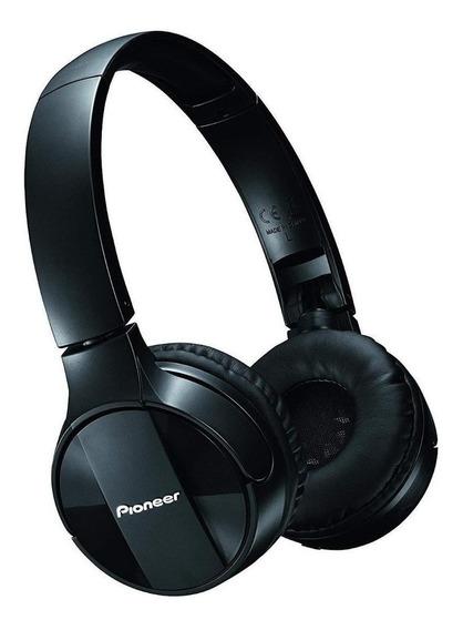 Fone de ouvido sem fio Pioneer SE-MJ553BT preto
