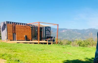Container Contenedor Cabaña Para Traslado