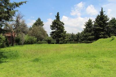 Terreno Club De Golf Los Encinos Colindante Campo