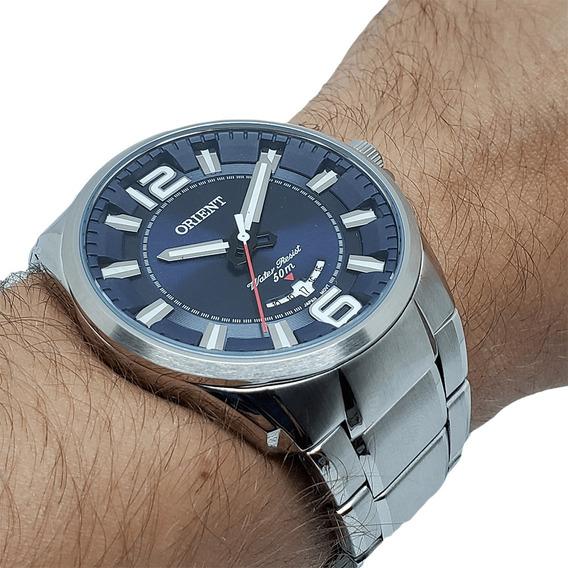 Relógio Masculino Orient Mbss1334 D2sx Aço Inoxidável Nf-e