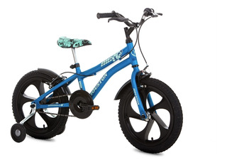Bicicleta Aro 16 Com Rodas Laterais Nic Houston