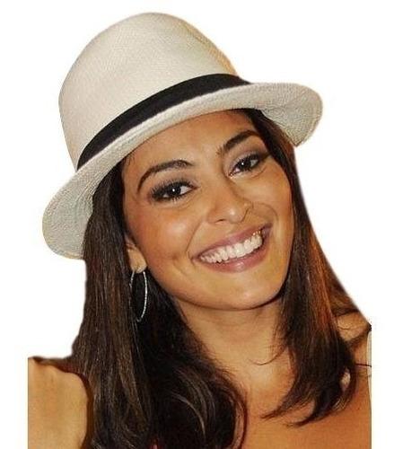 144a85a633 Chapeu Aba Larga Panama Chapeus Feminino - Acessórios da Moda com o ...