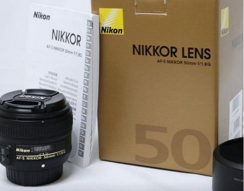 Lente Nikon 50mm