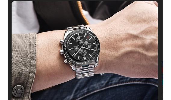 Relógio - Benyar - Original - Multifunção - 44mm - Estoque