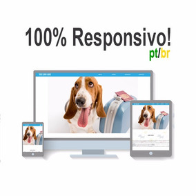 Template 100% Responsivo Pet Shop - Adobe Muse