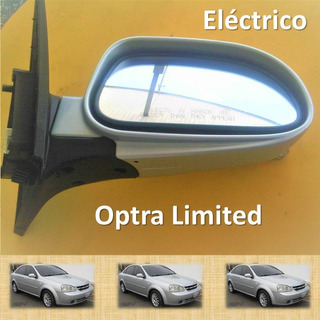Retrovisor Optra Derecho Limited Plateado