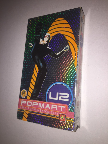 U2 Pop Mart Live From Mexico City Vhs