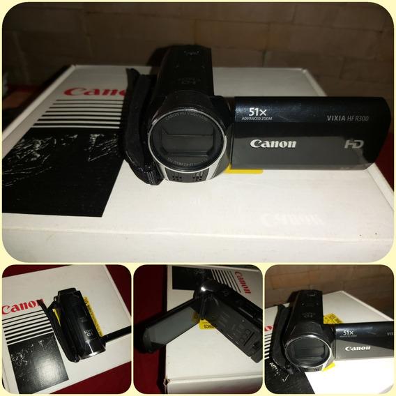 Filmadora Canon Vixia Hf R300 Nueva