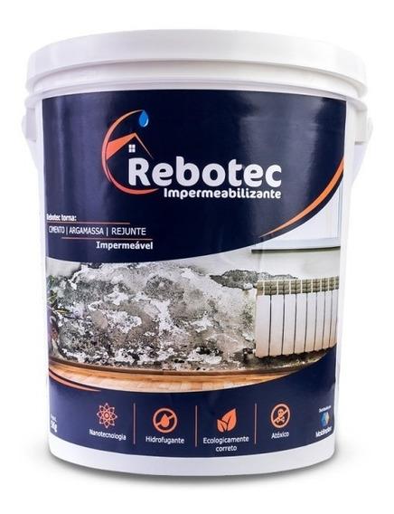 Rebotec 2kg Impermeabilizante Original Laje Infiltraçao