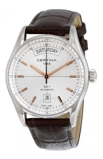 Relógio Certina Ds1 Automático Daydate C006.430.16.031.00