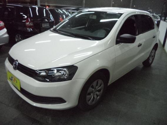 Volkswagen Gol Trendline 1.0 8v Flex G6 Completo 2015 Branco