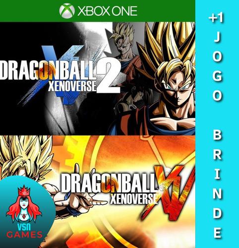 Dragon Ball Xenoverse 1 2 Super Bundle- Xbox One Digital