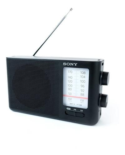 Radio Portatil Sony Am Fm Alta Potencia Pilas Hasta 400 Hs