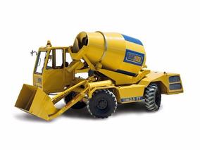 Autohormigonera Auto Hormigonera Mixer Carmix 3.5tt Motorman