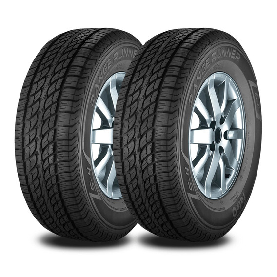 Kit 2 Neumaticos Fate 265/65 R17 116t Rr At Serie 4 Reinforc