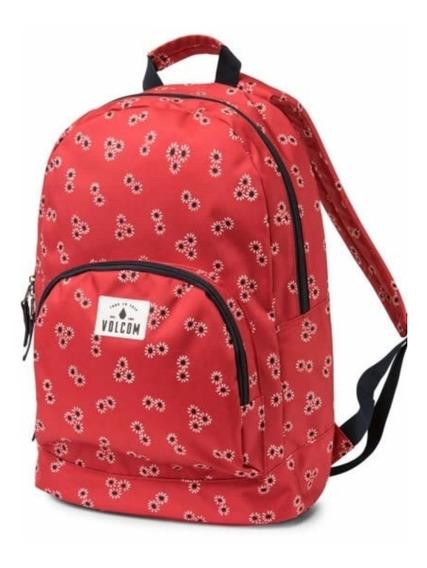Mochila Volcom Schoolyard Poly Backpack - Dot Mujer