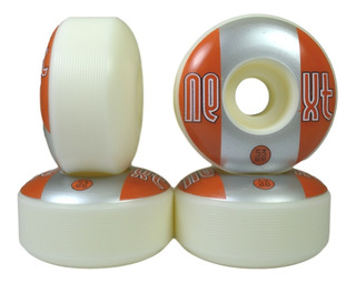 Roda De Skate 53mm Next 2 By Moska Laranja Prata