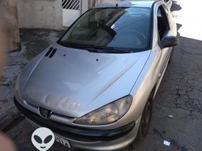 Peugeot 206 1.4 Flex Prata