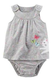 Vestido Bebe Menina Body Embutido Vários Tamanhos 118i004