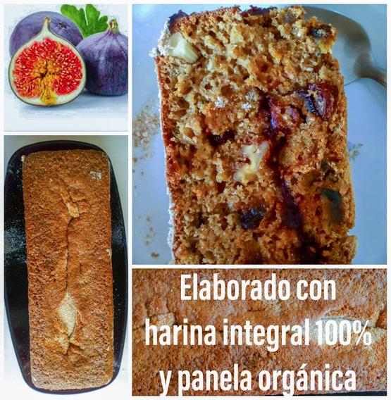 Pan Integral De Higo Con Panela Orgánica