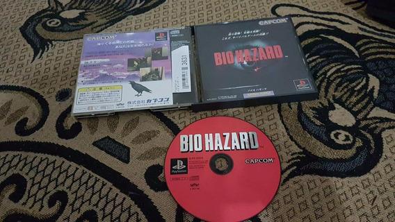 Bio Hazard Japonês Para O Playstation Funcionando 100%.a2