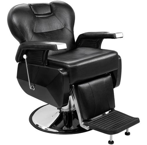 Imagen 1 de 7 de Sillon Barbero Hidraulico Robusto Reclinable Para Estetica