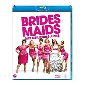 Blu-ray Damas En Guerra ( Bridesmaids) Comedia, Original
