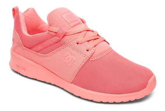 Tenis Para Mujer Dc Shoes Heathrow Rob Coral