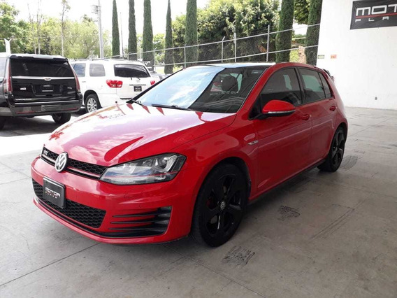 Volkswagen Golf Gti 2.0 Dsg Piel At 2016 R18