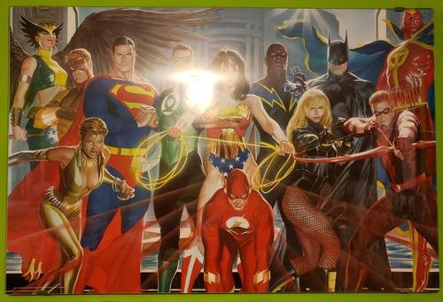 Imagen 1 de 4 de Posters Dc Comics Marvel Comics (originales)