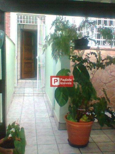 Sobrado  Residencial À Venda, Brooklin Velho, São Paulo. - So0749