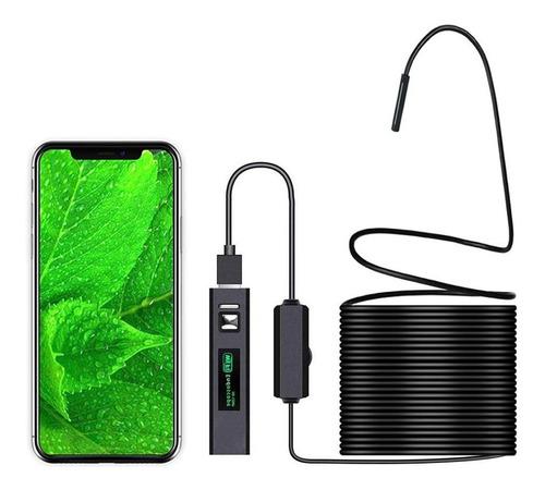 Camara Endoscopio Wifi Android iPhone Y Pc Cable 3.5 Metros