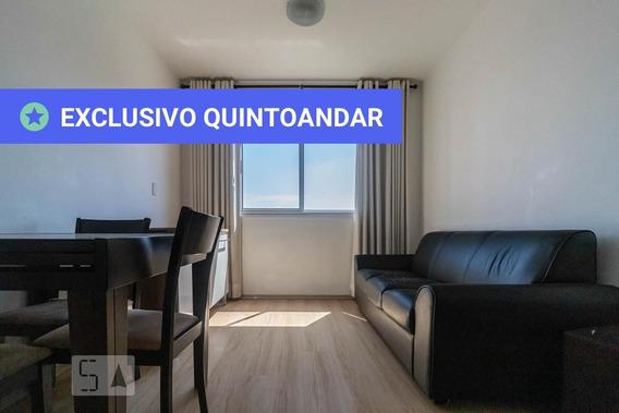 Apartamento No 5º Andar Mobiliado Com 2 Dormitórios E 1 Garagem - Id: 892975161 - 275161