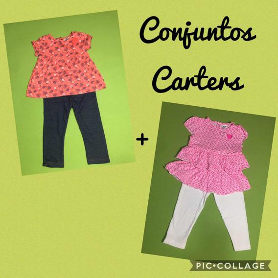 Kits 2 Conjunto Infantil Menina Carters 18m Roupa De Criança
