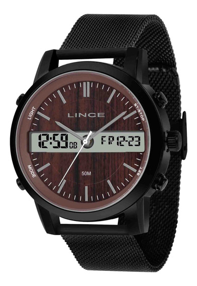 Relógio Lince Masculino Man4489s N1px Preto - Refinado